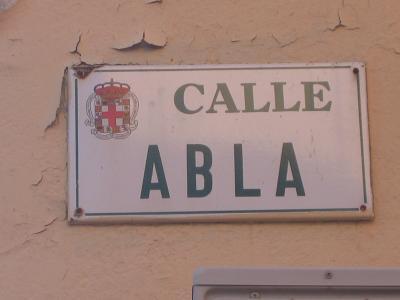 LA CALLE ABLA DE ALMERIA