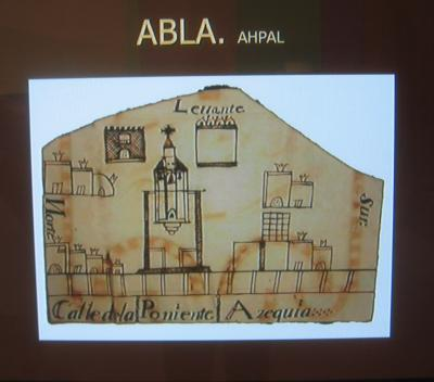 PLANO DE LA VILLA DE ABLA (1752)