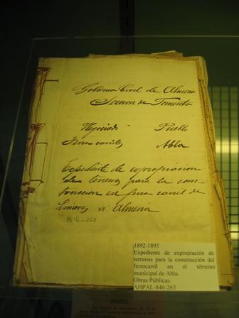 """ABLA EN LA EXPOSICIÓN """"EL FERROCARRIL"""""""
